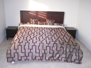 Bonaire condo photo - Bed room 1, second bed room is the same. Not in picture two night lamps