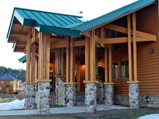 Pagosa Springs house photo - Porte Cochere