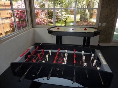 El Centro Beach house rental - Private Game Room! Air Hockey, Fooseball & Pool Table!
