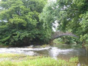River Monnow at Tregate Bridge