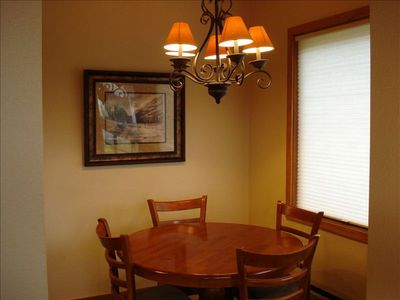 Separate Dining Area With Magnificent View of Mt. Crested Butte!