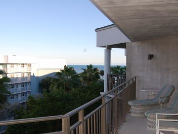 Partial view from 50 ft. long balcony