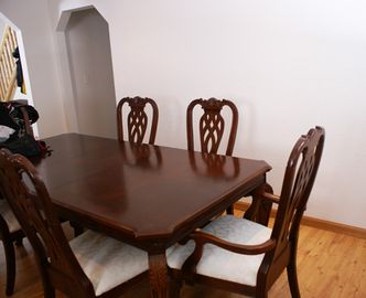 Dining area with seating for 10 guests