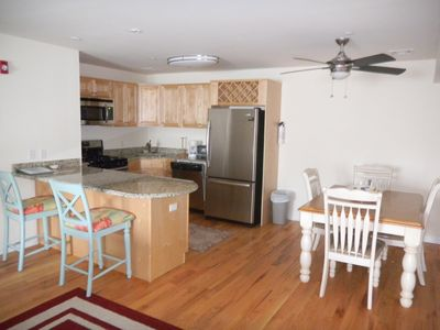Kitchen and Eating Area in 2BR