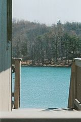 Moneta house photo - Lake View from Side Deck
