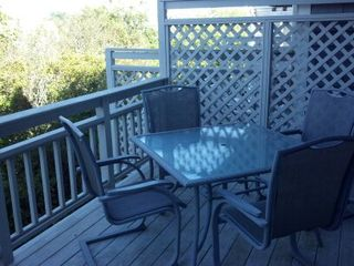Provincetown townhome photo - Living Room Deck