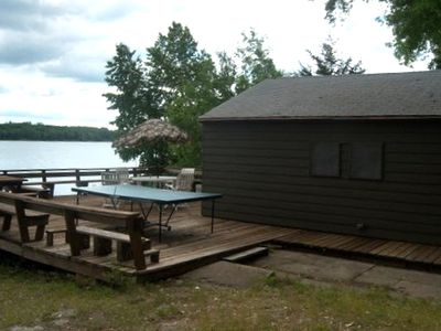 Stillwater cabin rental - Boat House & Deck on lake
