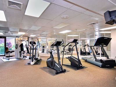 Fitness Center at the Christie Lodge Resort