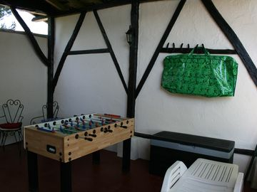 Summer kitchen/games room