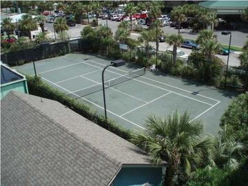 Private Clay tennis court
