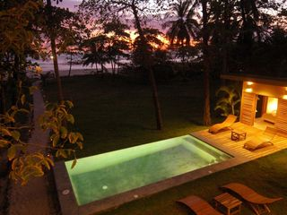 Mal Pais estate photo - Infinity Pool & Guest House / Cabana