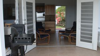 Vieques Island property rental photo - Guest House porch