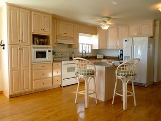 Slaughter Beach house photo - The newly renovated and fully stocked kitchen