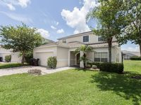 7 BEDS/7 BATHS,SOUTH FACING POOL WITH WATER VIEW,ALL NEW FURNITURE,10 MIN DISNEY