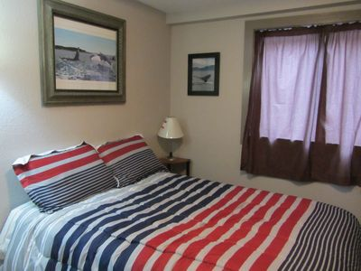 Kodiak house rental - Full size bed