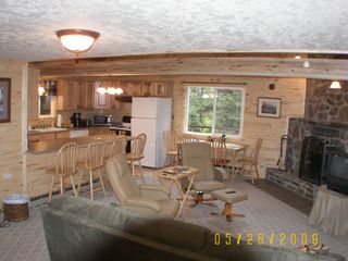 Living Area - Westcliffe cabin vacation rental photo