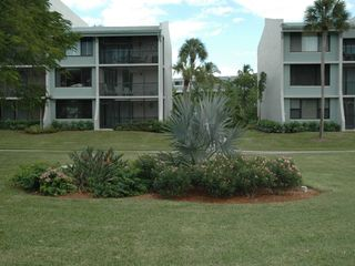 Sanibel Island condo photo - Exterior of Loggerhead Cay from courtyard