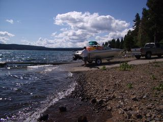 Lake Almanor house photo - Launch All Your Toys& Boats at Our Private Ramp