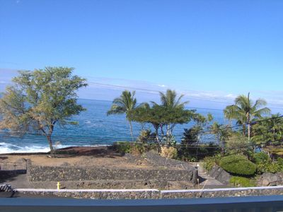 Kailua Kona condo rental - Beautiful Ocean Front View