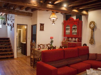 La Real, accommodation in Arévalo for up to 10 pax. in the historical center