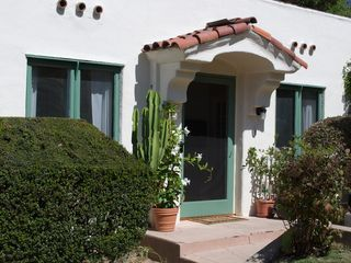 La Jolla cottage photo - Front Entrance