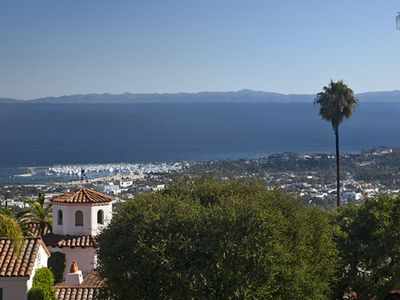 The house is oriented such that most every room in the house has this amazing view out to the channel islands.