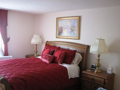 Beautiful Master Bedroom with all New Furnishings