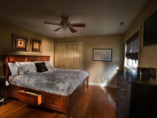 King size, Sleep Number, music bed in the Laurel Cottage - Asheville cottage vacation rental photo