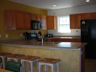 South Island Villas Ocean City townhome photo - Spacious fully Equipped Kitchen