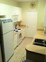 Rehoboth Beach condo photo - The kitchen has everything you need to cook