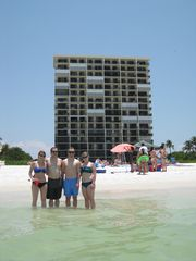 Seawinds condo photo - Standing in front of the condo