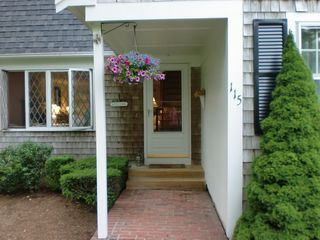 Pocasset house photo - inviting front door