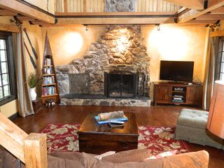 Lake Arrowhead cabin photo - Living room