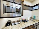 Kitchenette - The well-equipped kitchenette features plenty of helpful gadgets.