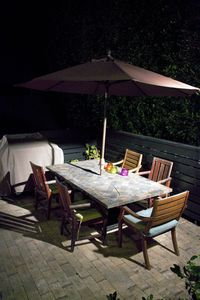 Enjoy Dinner on Your Private Patio!