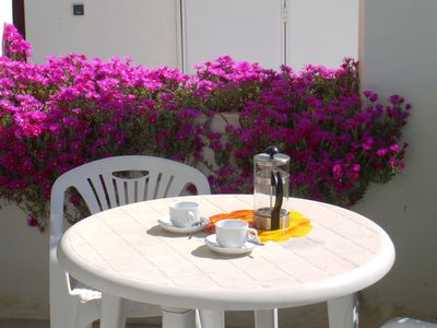 Have breakfast on one of terraces