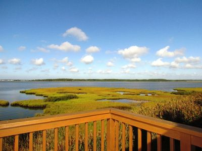 Fenwick Island townhome rental - Bay View from Master Bedroom