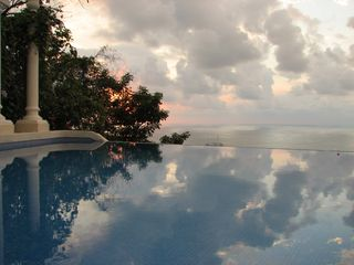 Manuel Antonio villa photo - Your private infinity edged pool is 84 degrees all year round!