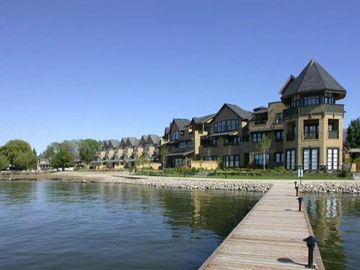 Kelowna townhome rental - View from the Dock