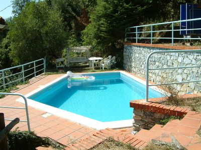 Villa with private swimming pool and panoramic view
