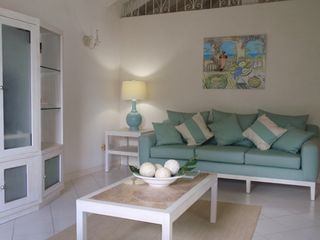 Sandy Lane villa photo - Comfortable indoor living area in the cottage with cable TV