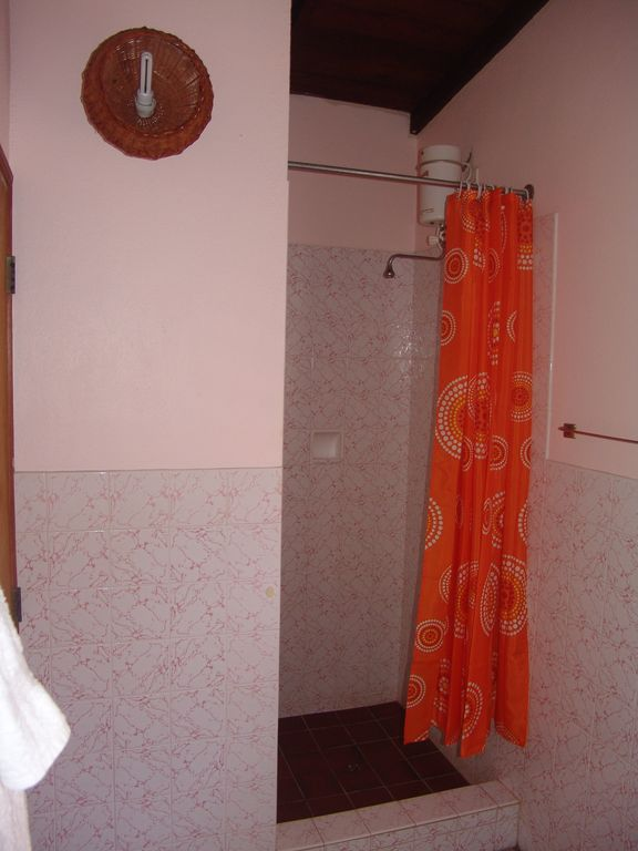 Second bathroom with shower stall