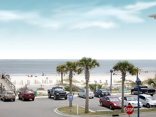 Tybee Island condo photo - View From Our Balcony.