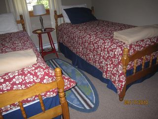 Twin bedded room - Wellfleet house vacation rental photo
