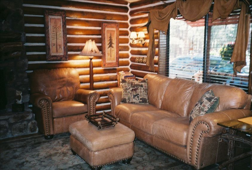 Real Luxury Log Cabin Fully Fenced No Pet Vrbo