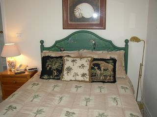 Maravilla Resort condo photo - Queen Guest Bed with TV/DVD