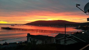 Avila Beach house rental - Can't beat the fall sunsets.