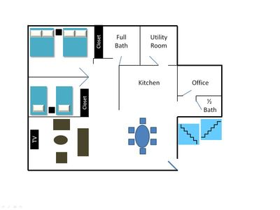 Apartment unit floor plan