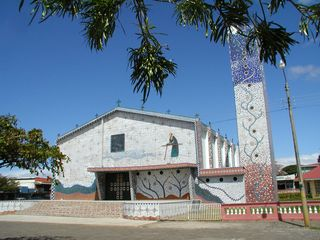 Playa Azul condo photo - Tiled church in Canas
