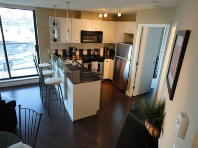 Vancouver apartment rental - Stainless Steel Kitchen